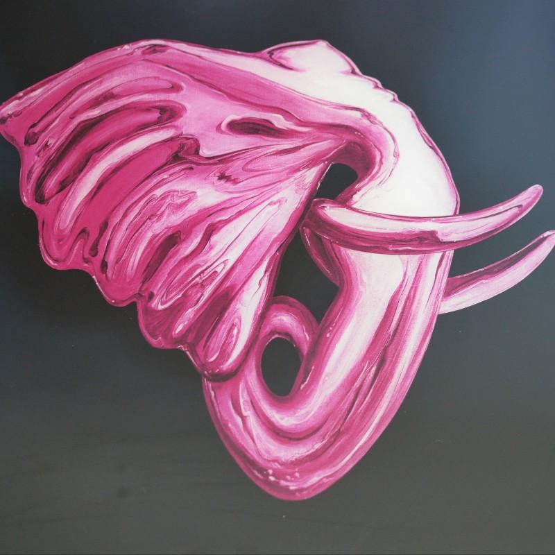 "Serigraph ""Elephantasm"" by Anis Dargaa"
