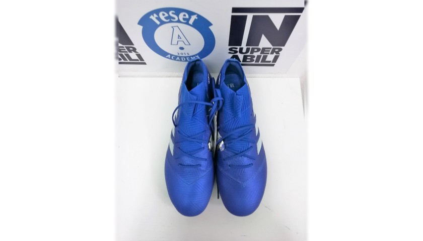 De Silvestri's Adidas Match-Issue Signed Boots, 2018/19
