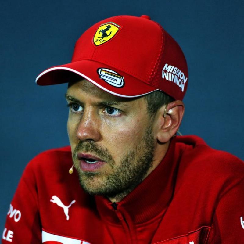 Cap Belonging to Sebastian Vettel - Signed