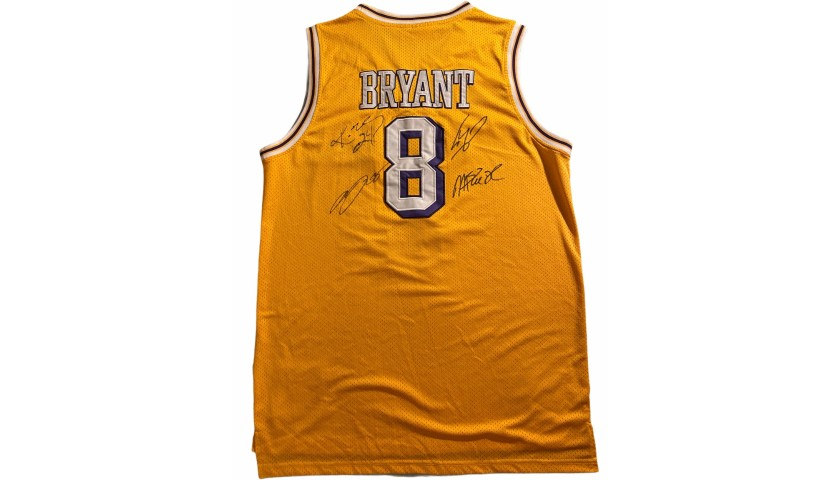 Kobe's Official LA Lakers Jersey, 1996/97 - Signed by the Players