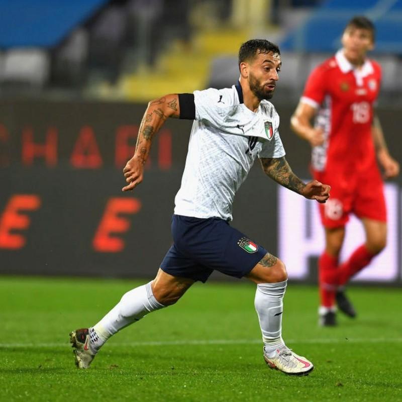 Caputo's Match Shirt, Italy-Moldova 2020