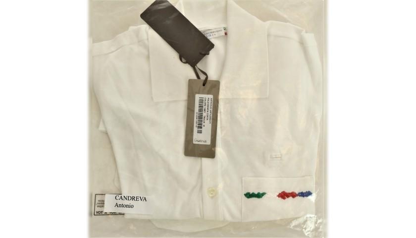 Antonio Candreva's Ermanno Scervino Polo Shirt