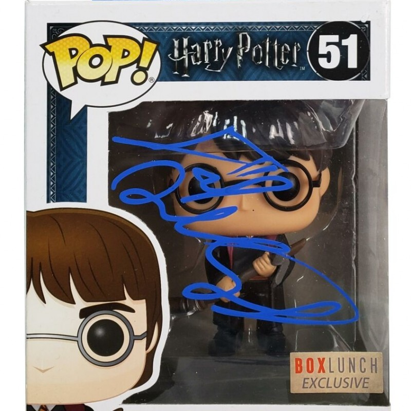 "Daniel Radclife ""Harry Potter"" Hand Signed Funco Pop! Figure"