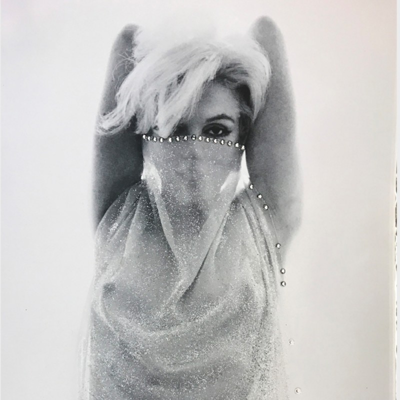 """Marilyn, Jeweled Arabian"" by Bert Stern"