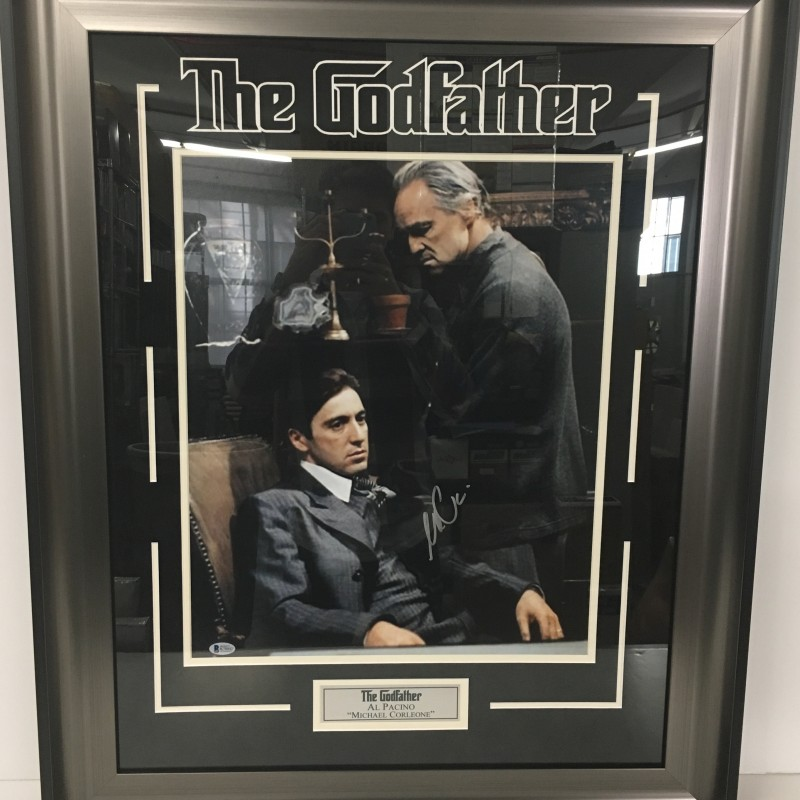 The Godfather Photograph Autographed by Al Pacino