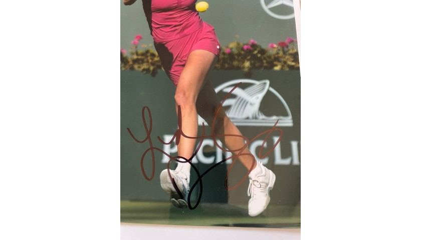 Lindsay Davenport Signed Photo
