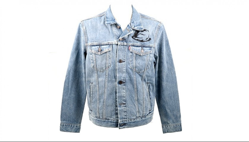 Levi's® Trucker Jacket Personalized by Arturo Muselli for Rolling Stone