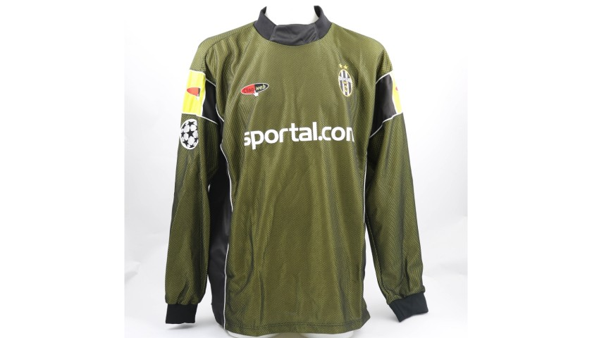 uk availability 25a68 32e0f Isaksson's Juventus Match-Issue/Worn Shirt, 2000/01 - CharityStars