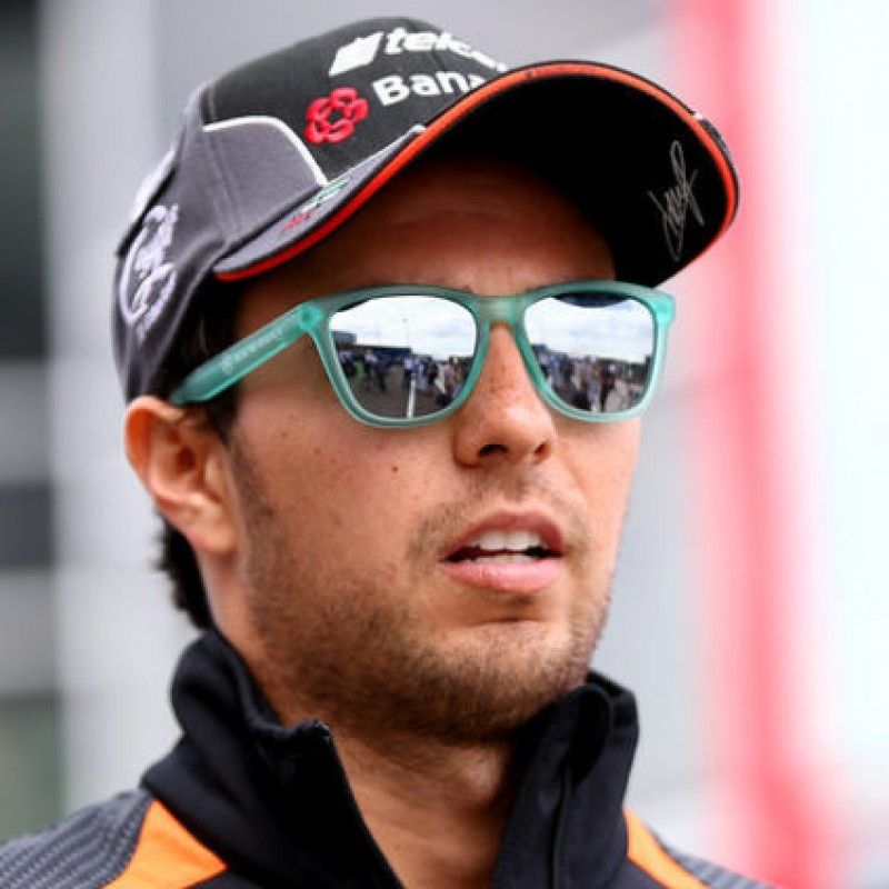 Cap Issued for Sergio Perez - Signed