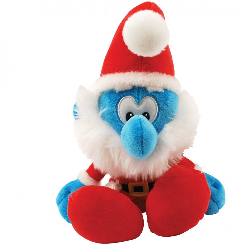 Receive a Stuffed Christmas Smurf