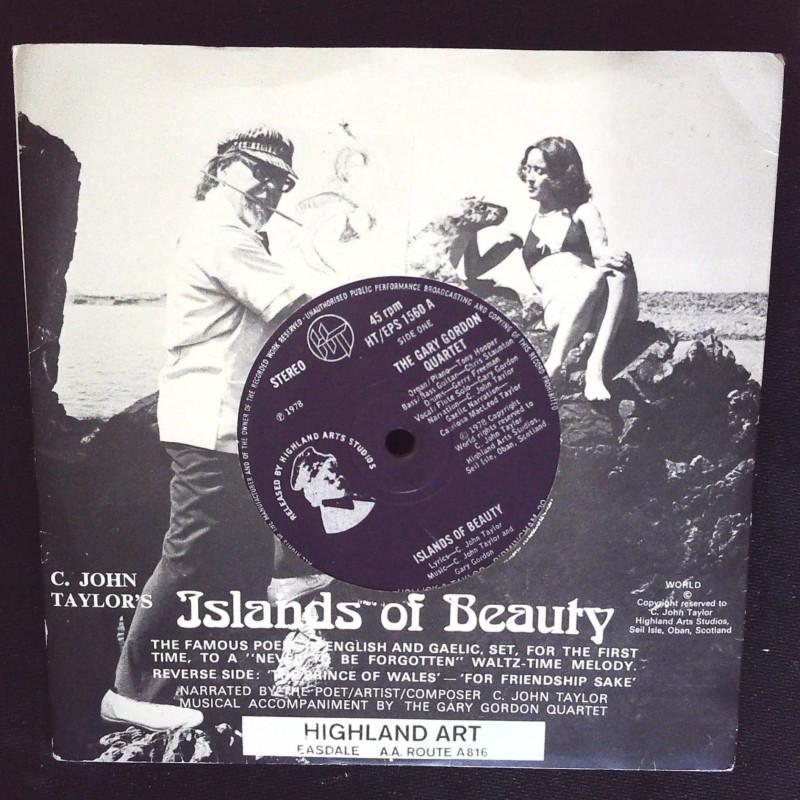 """Islands Of Beauty"" Vinyl Single - C. John Taylor, The Gary Gordon Quartet, 1978"