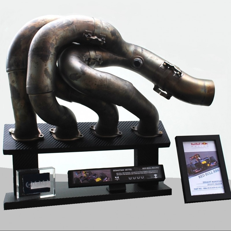 Red Bull RB6 2010 World Championship Winning Exhaust Manifold