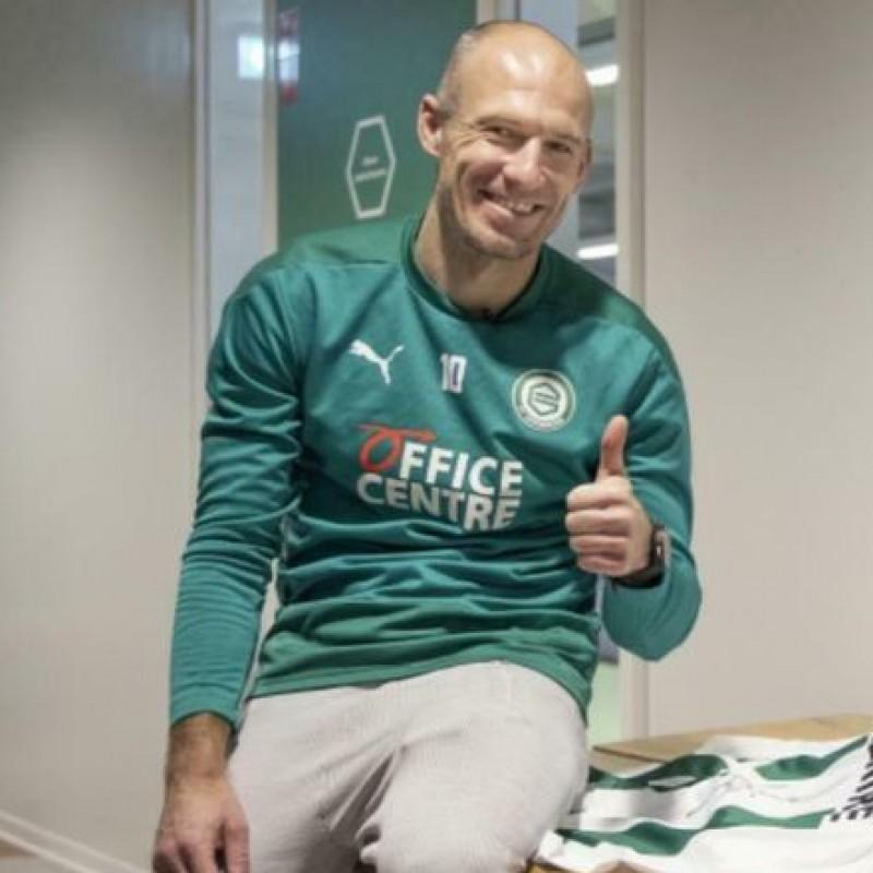 Groningen 20/21 Shirt Signed by Arjen Robben