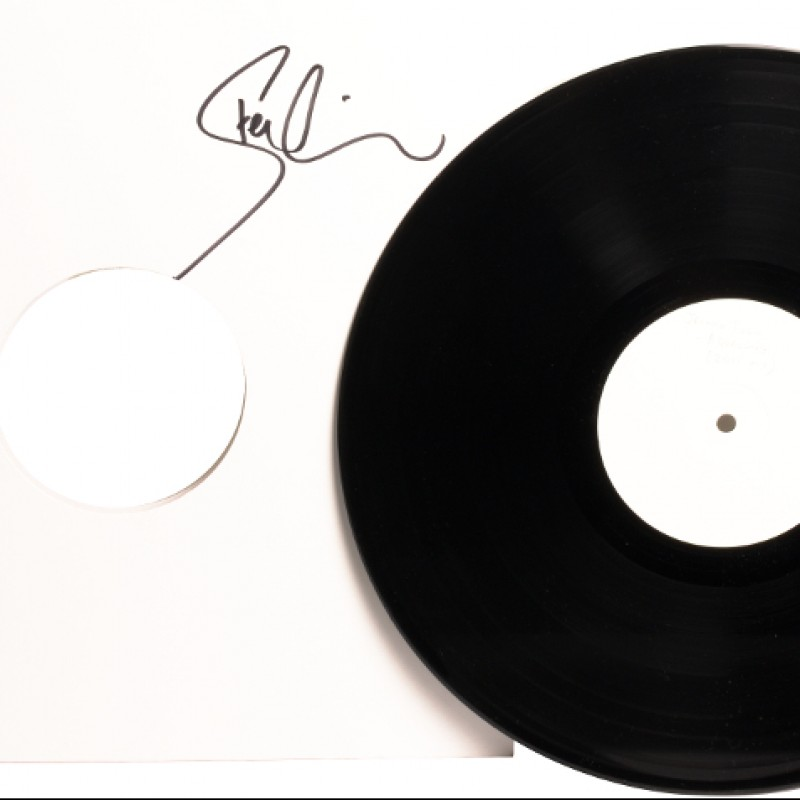 "Steve Wilson's Signed White Label ""Aqualung"" Vinyl"