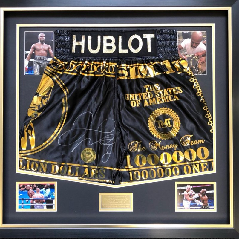 Limited Edition 50-0 Trunks by Mayweather