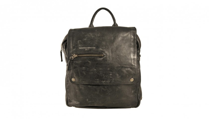 Minoronzoni men's Leather Backpack