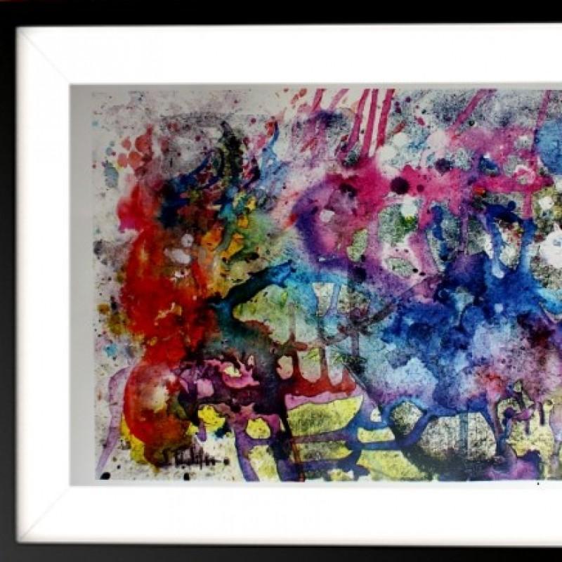 "S. Filioli - ""Third eye explosion"" - Fine Art print -33x48 cm"