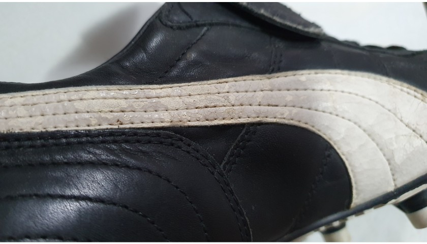Maradona's Worn and Signed Boots, 1989/90