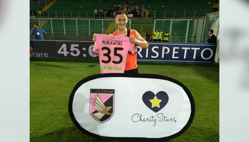 Murawski's Worn and Signed Shirt, Palermo-Crotone 2018