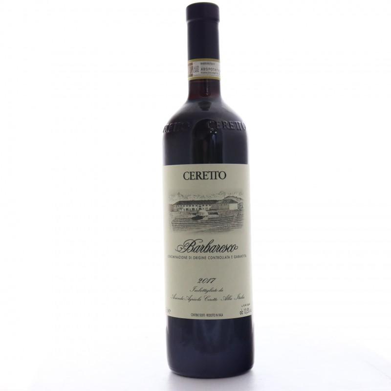 Bottiglia Ceretto Barbaresco 2017