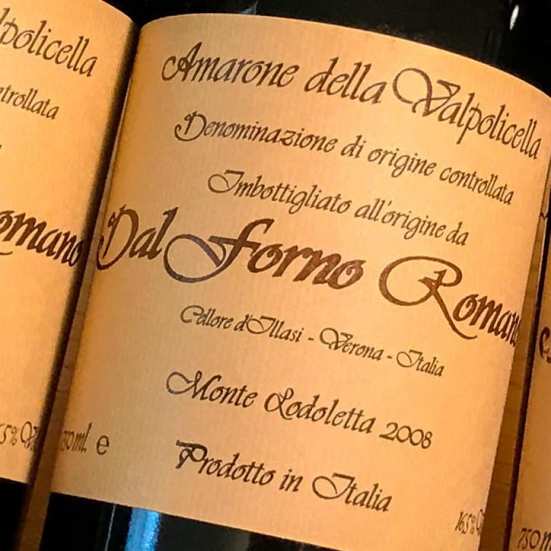 Amarone Classico Monte Lodoletta Wine, Dal Forno Romano