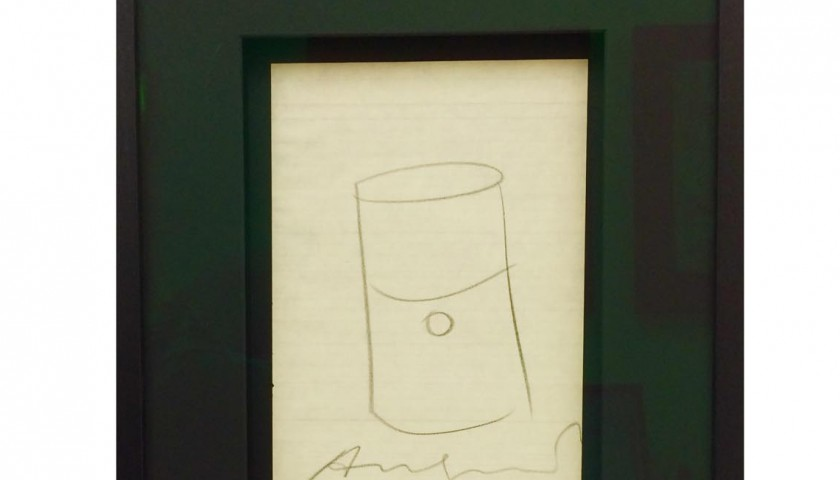 'Large Soup Can' - Andy Warhol
