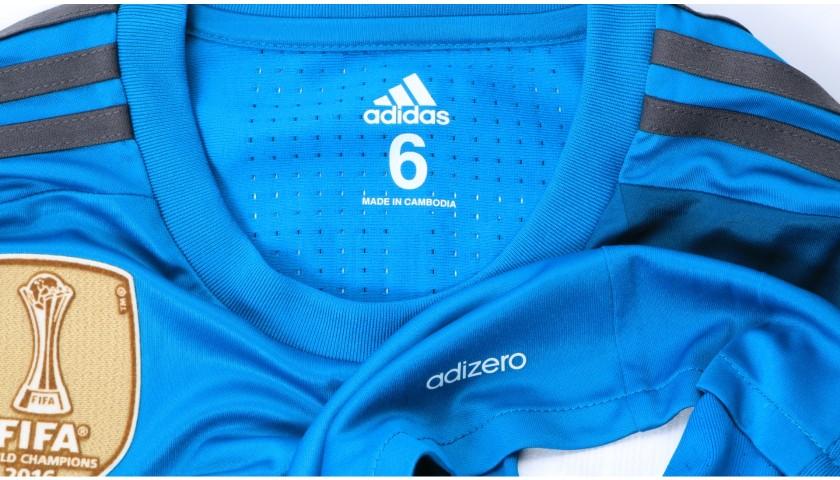 Kroos' Real Madrid Match Shirt, UEFA Super Cup 2017