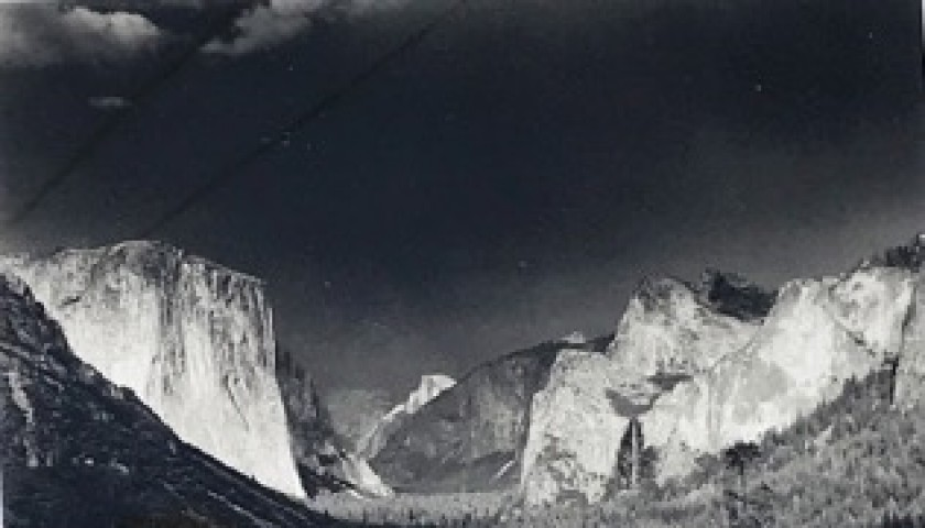 """""""Mountain Thunderstorm"""" by Ansel Adams"""