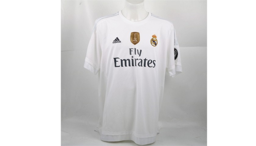 premium selection a5468 5e435 Official Real Madrid shirt signed by Gareth Bale - CharityStars