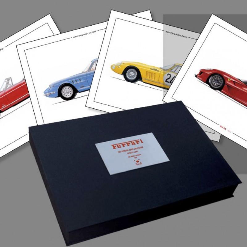 Collezione di Macchine Ferrari – Cofanetto Limited Edition con 260 immagini