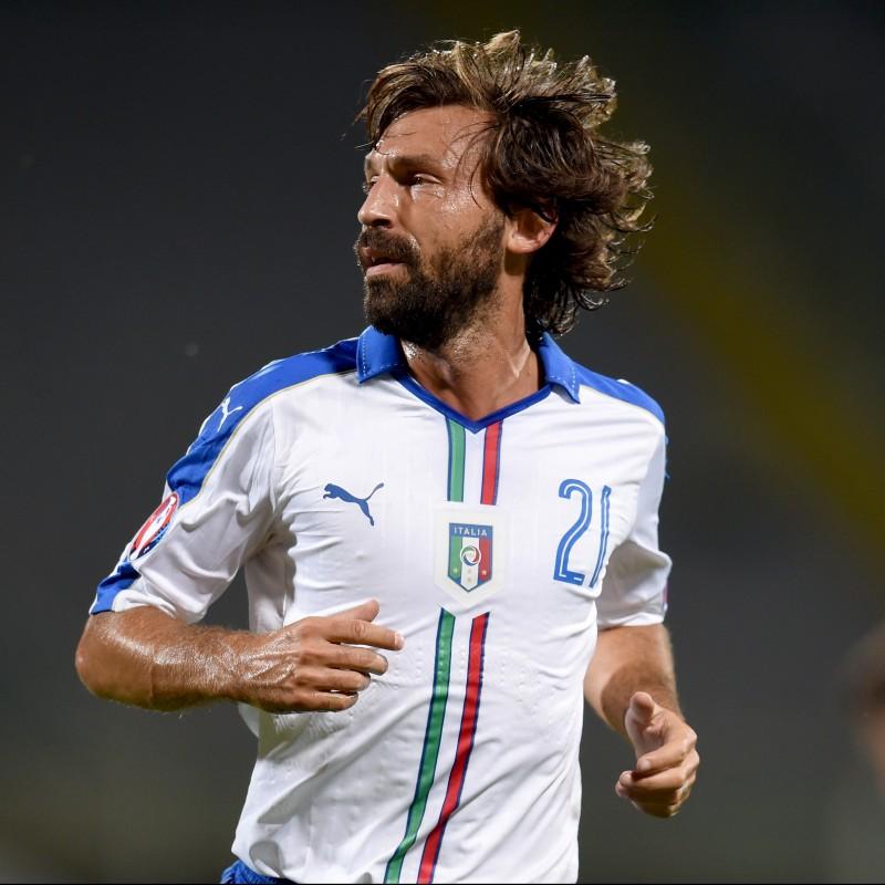 Pirlo's Match Shirt, Italy-Malta 2016