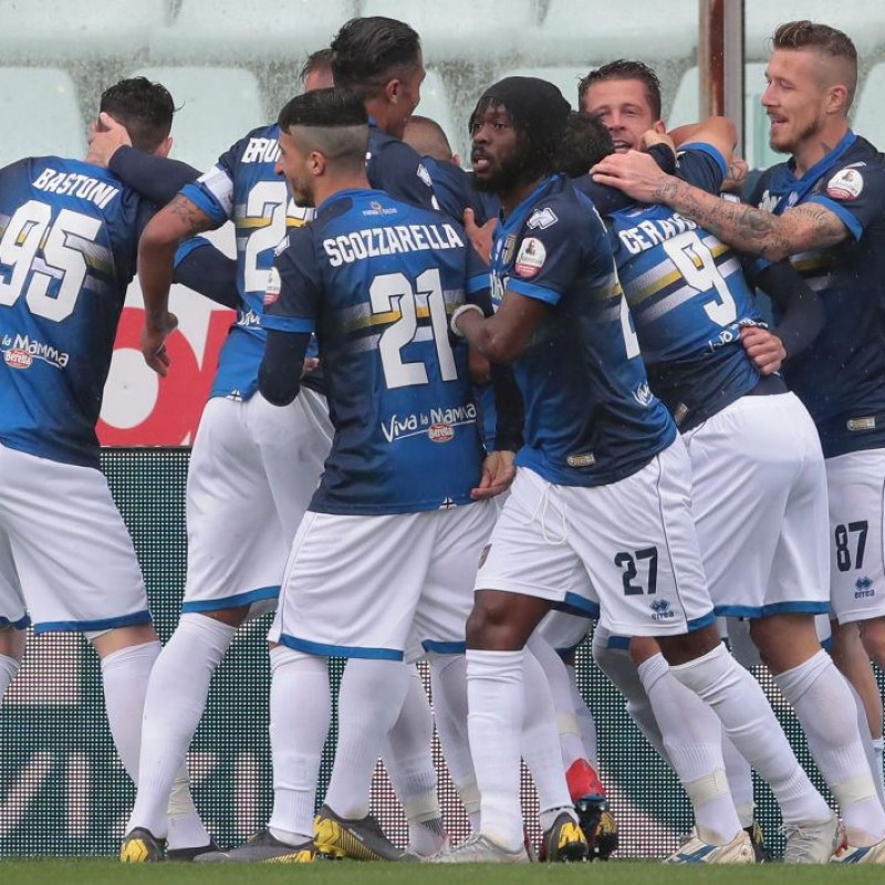 Scozzarella's Worn Kit, Parma-Sampdoria - #Blucrociati