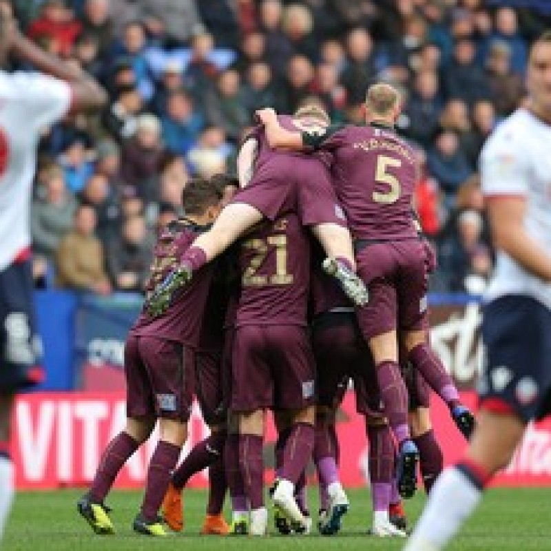 Naughton's Swansea City Match-Worn and Signed Poppy Shirt