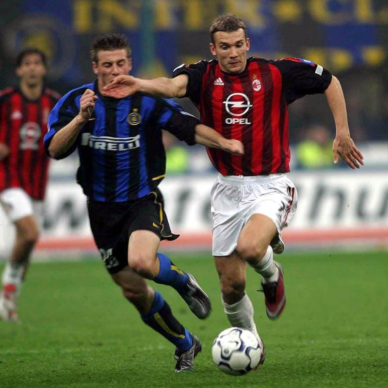 Shevchenko's Milan Signed Match Shirt, Serie A 2001/2002