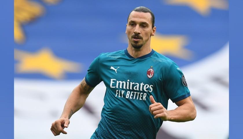 Ibrahimovic's Official Milan Signed Shirt, 2020/21