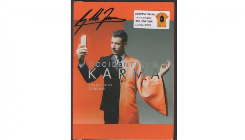 eef1f16fa57faf CD e T-Shirt autografati da Francesco Gabbani - CharityStars