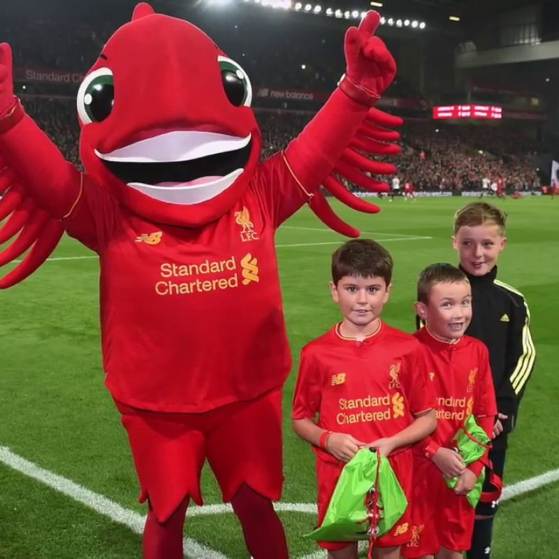 Be the Official Mascot at the LFC Foundation Legends Charity Match
