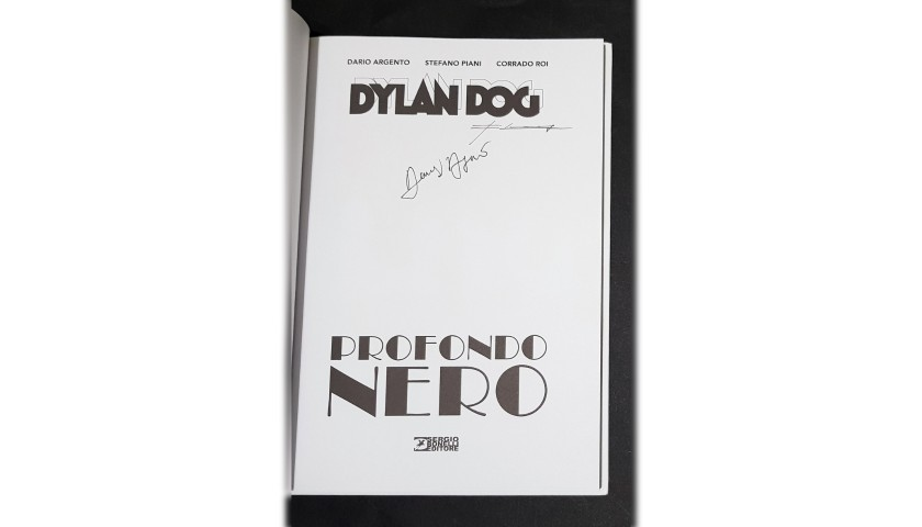 """Dylan Dog """"Profondo Nero"""" Comic - Signed by Argento and Roi"""