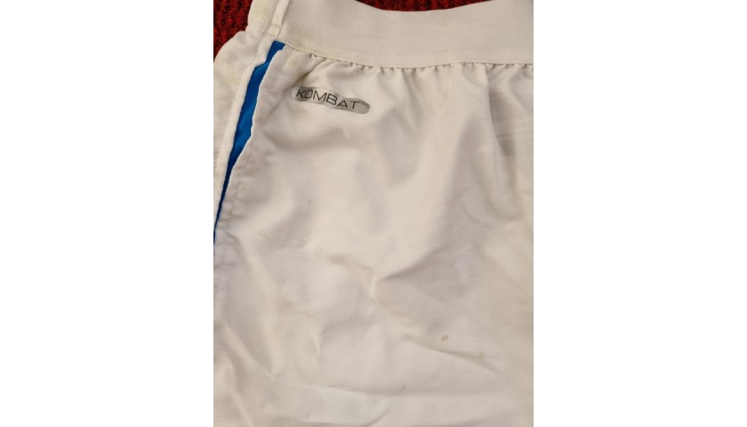 Bakayoko's Napoli Worn and Signed Shorts, 2020/21