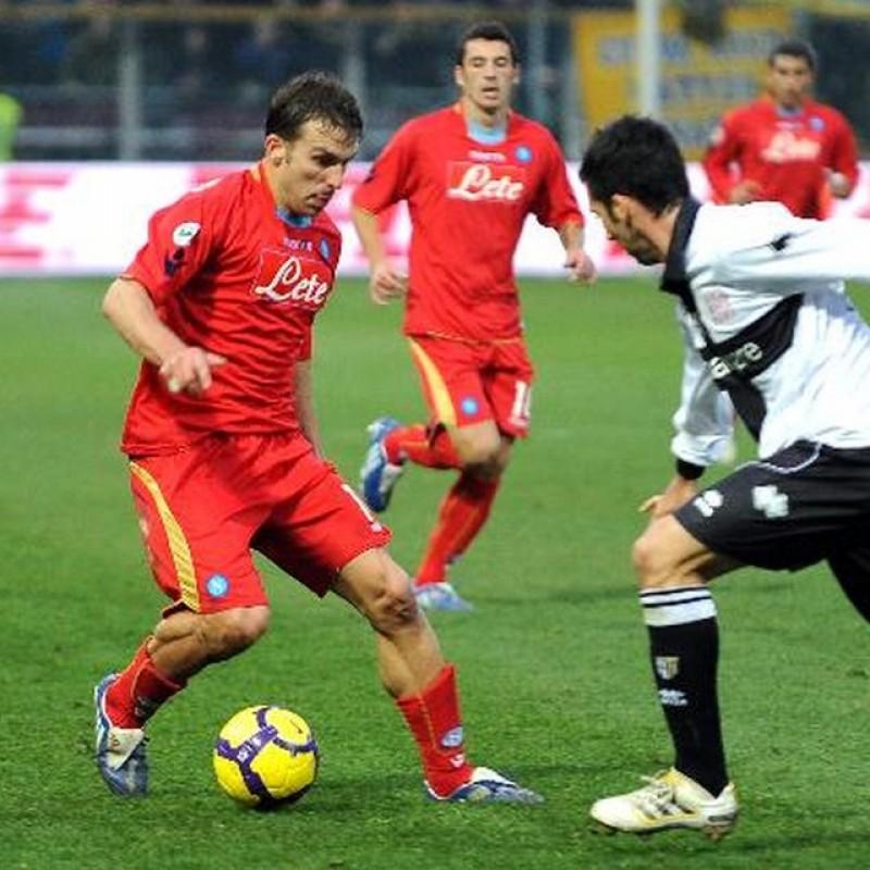 Campagnaro's Napoli Worn and Signed Shirt, 2009/10