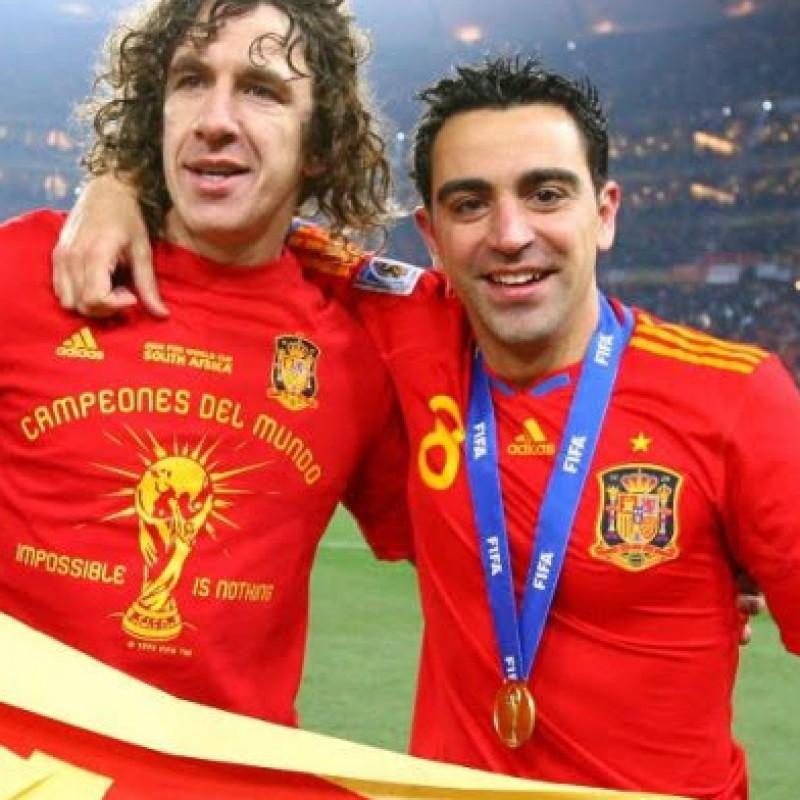 Xavi's Spain Signed Shirt, 2010