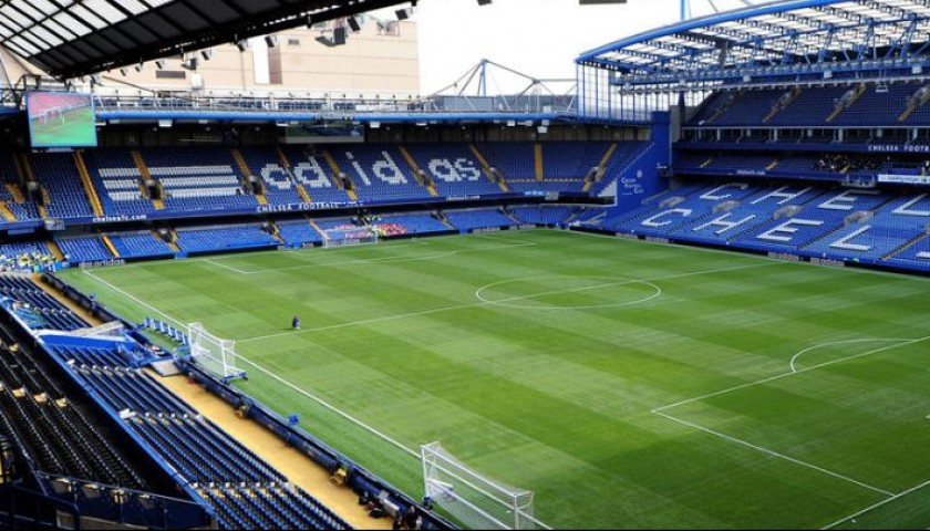 Play at Chelsea FC's Stamford Bridge
