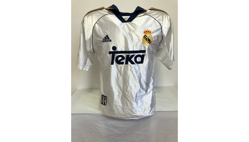 Eto'o's Official Real Madrid Signed Shirt, 1998/99