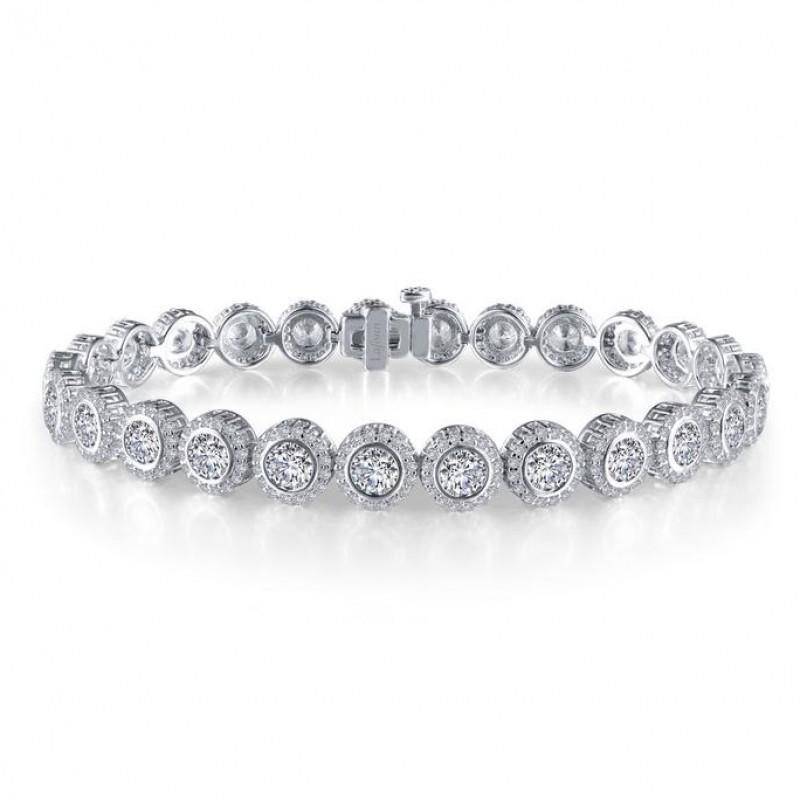 Lafonn Classic Simulated Diamond Bracelet