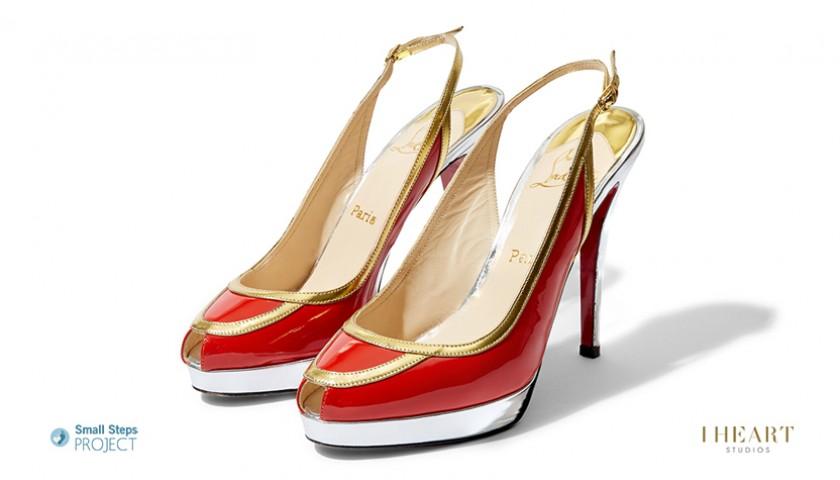 Melanie C Signed Shoes