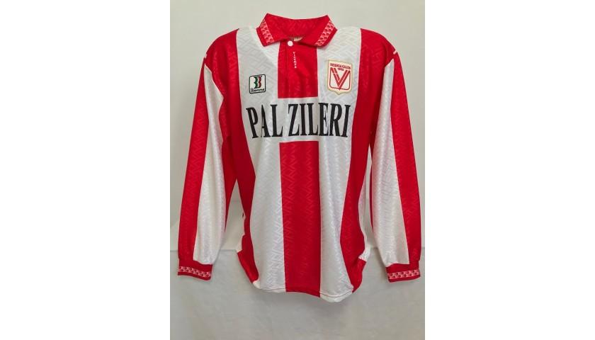 Otero's Vicenza Signed Match Shirt, 1996/97