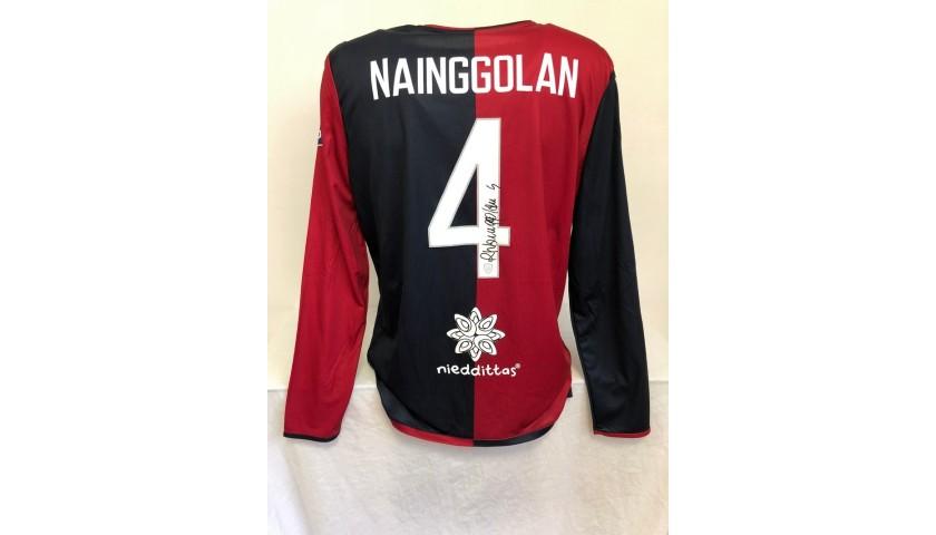 Maglia Nainggolan Cagliari, preparata 2019/20 - Autografata
