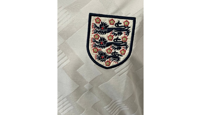 Gascoigne's England Match Shirt, WC 1990