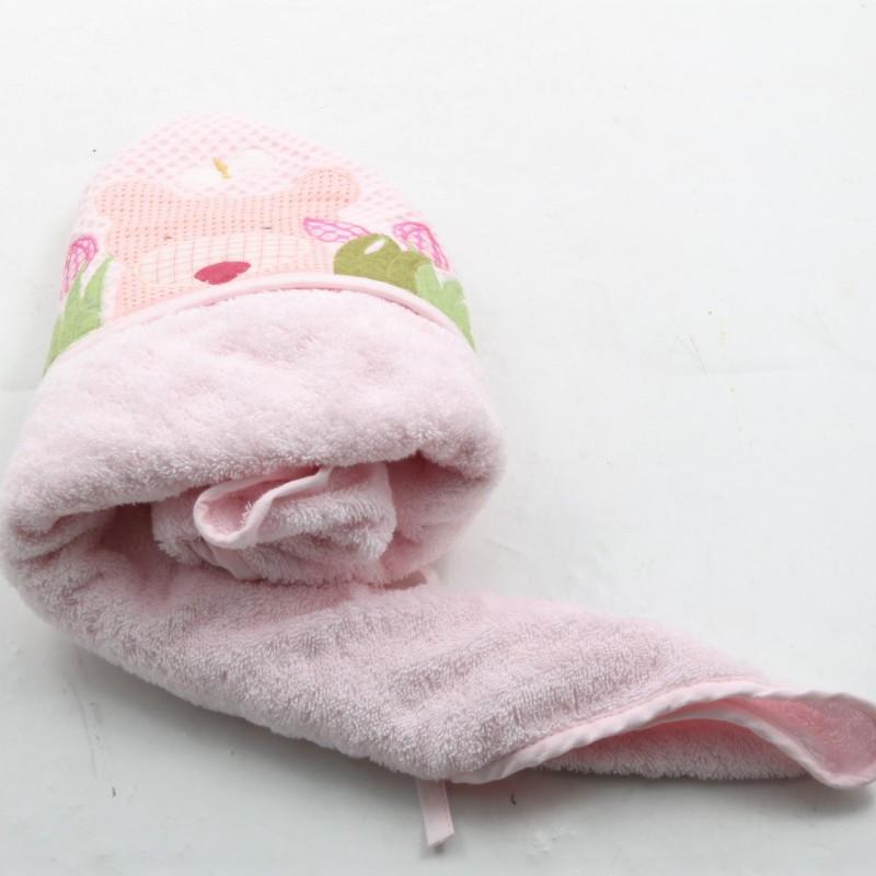 Asciugamano con personalizzazione per bambino realizzato da Teo Boutique