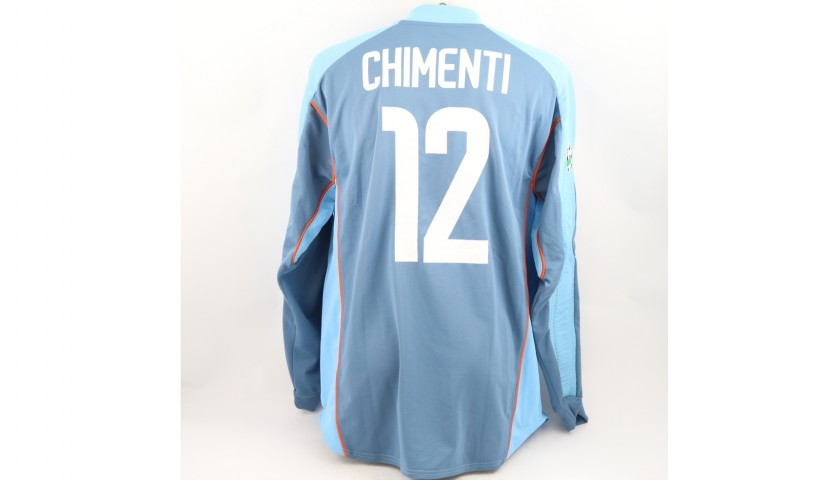 Chimenti's Juventus Match Shirt, Serie A 2003/04